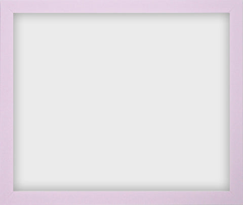 "Olympia Glossy Lilac Photo Frame 12x15"" No Mount"