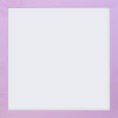 "Olympia Glossy Lilac Square Photo Frame 5x5"" No Mount - photoframesandart"