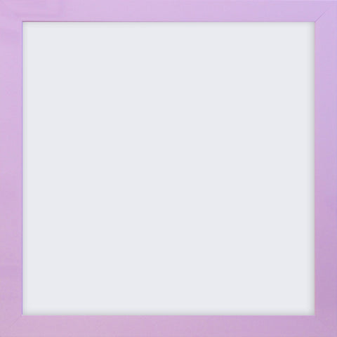 "Olympia Glossy Lilac Square Photo Frame 4x4"" No Mount"