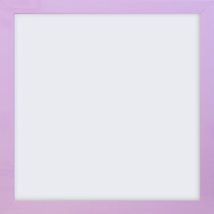"Olympia Glossy Lilac Square Photo Frame 4x4"" No Mount - photoframesandart"
