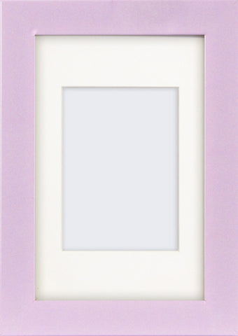 Olympia Glossy Lilac Photo Frame 6x4""