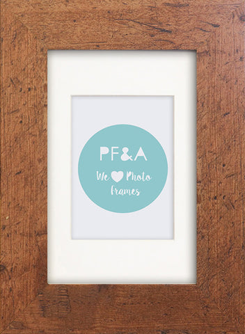 Rustic Wood Effect Photo Frame 6x4""