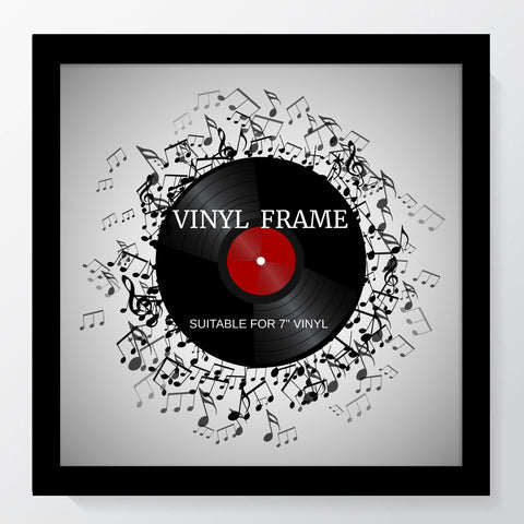 "Oxford Black Photo Frame Suitable for a 7"" Vinyl Single"