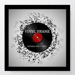 "Oxford Black Photo Frame Suitable for a 7"" Vinyl Single - photoframesandart"