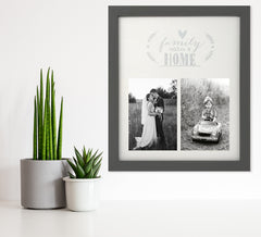Family Makes a Home - 30cms x 25cms - photoframesandart