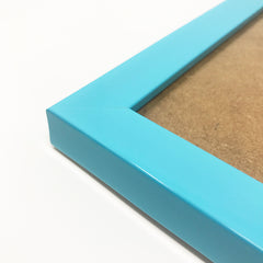 Olympia Glossy Aqua Blue Photo Frame A3 / 42x29.7cm No Mount - photoframesandart
