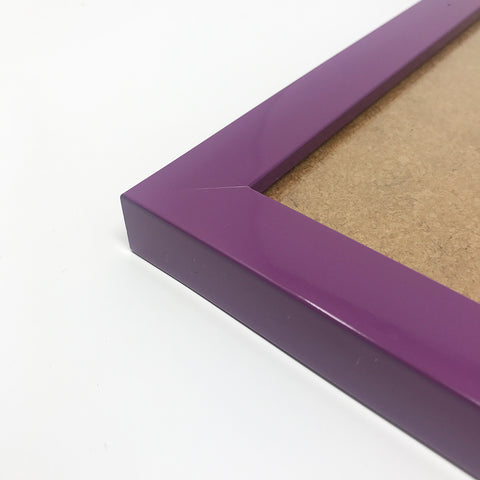 Olympia Glossy Purple Photo Frame A3 / 42x29.7cm No Mount