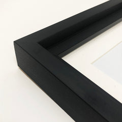 "Hoxton Black Photo Frame Suitable for a 7"" Vinyl Single - photoframesandart"