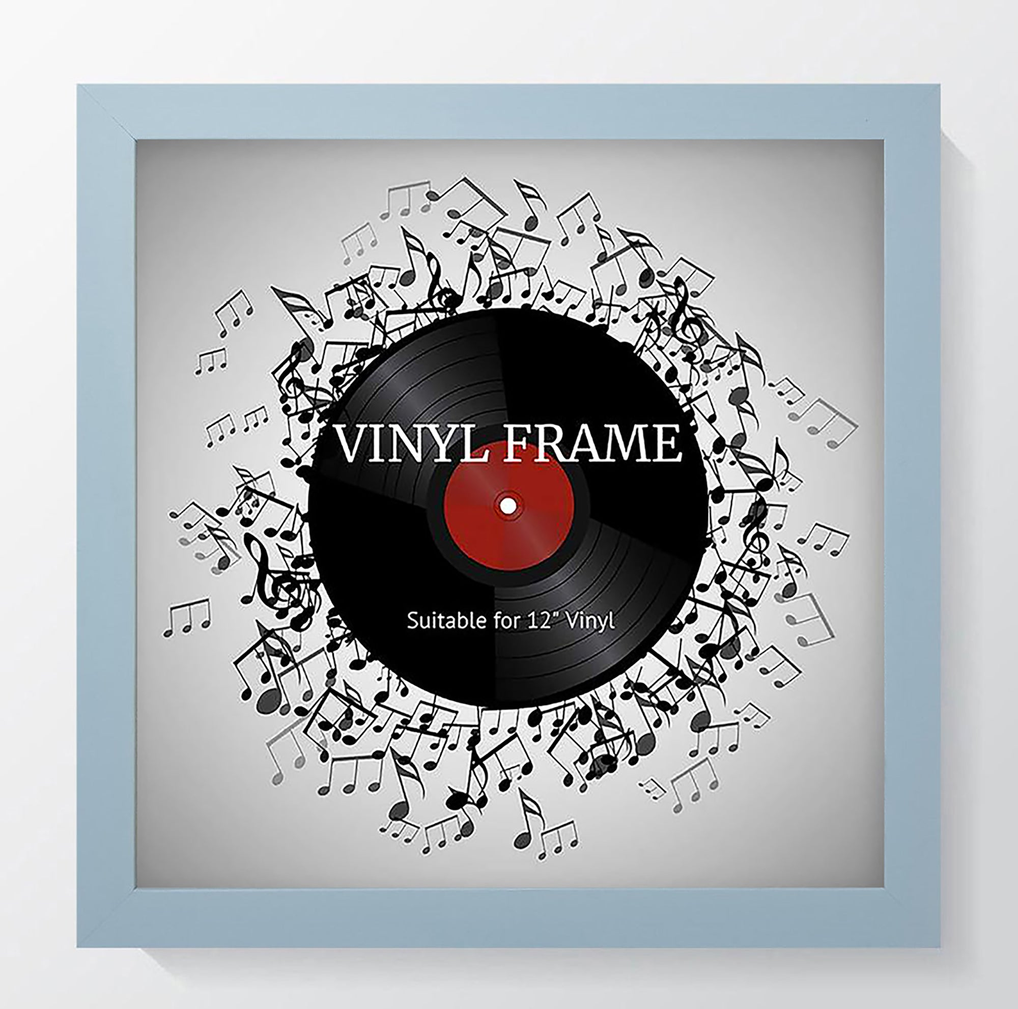 "Oxford Light Blue Photo Frame Suitable for a 12"" Vinyl Album"