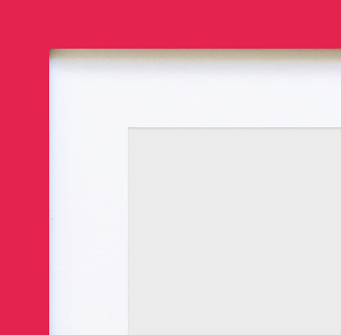 "Olympia Glossy Pink Square Instagram Photo Frame 4x4"" No Mount"