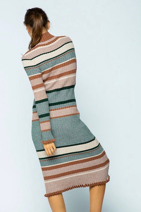 DRESSED TO PLAY SWEATER DRESS