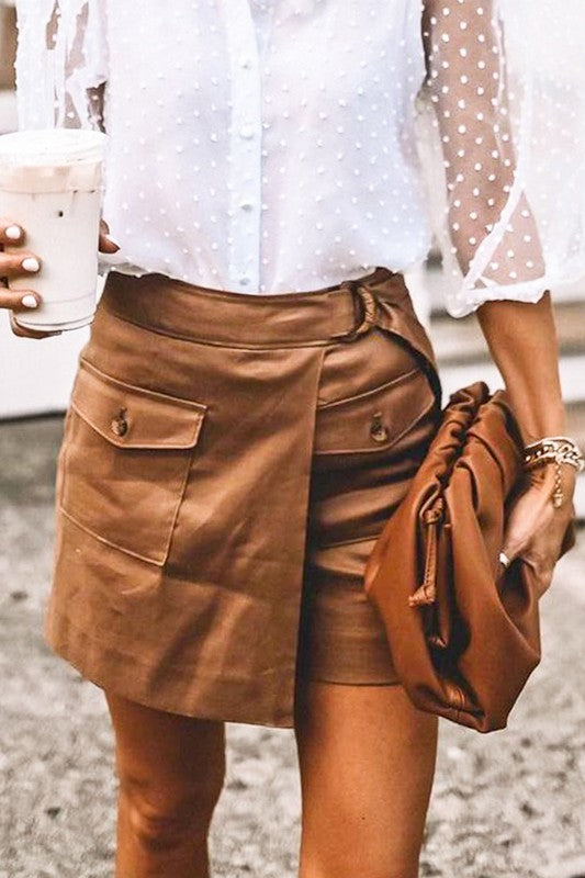 TALKING A SKORT LOOK
