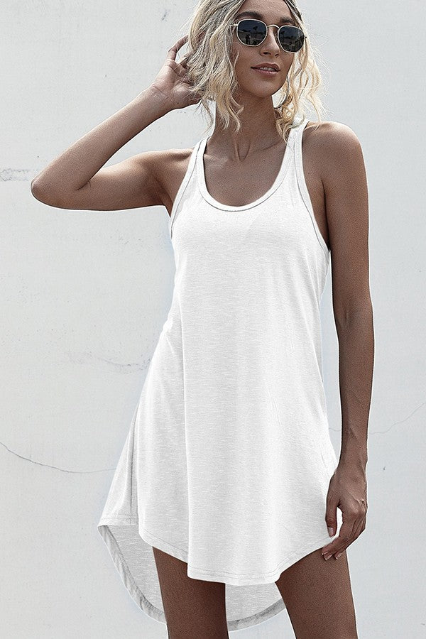 STAND UP TANK DRESS
