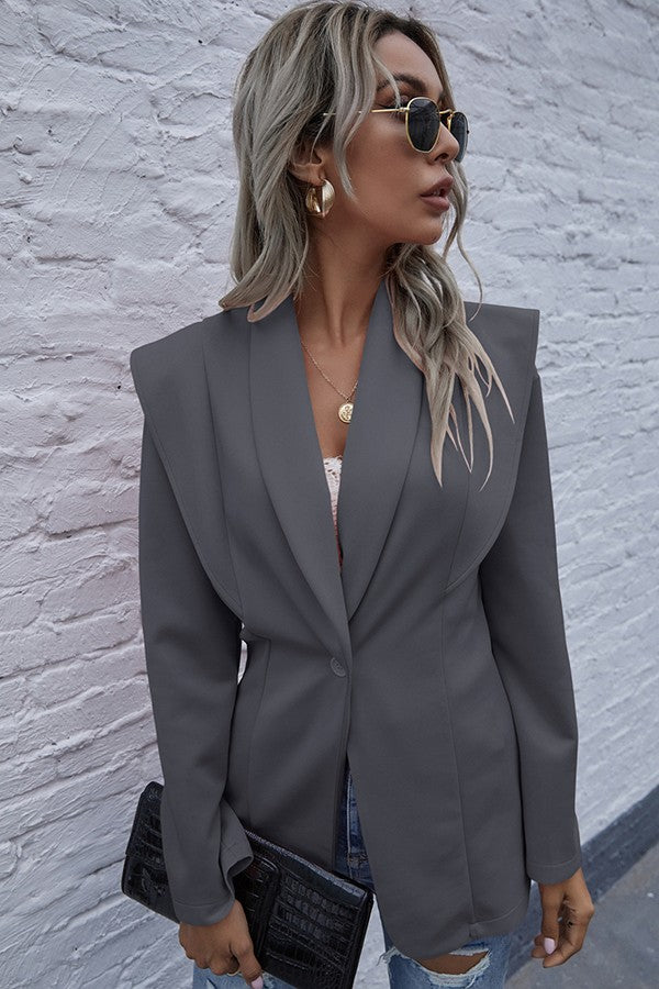 LET IT BE GRAY BLAZER