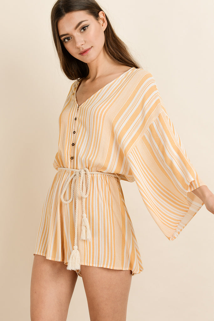WEEKEND GET AWAY  ROMPER