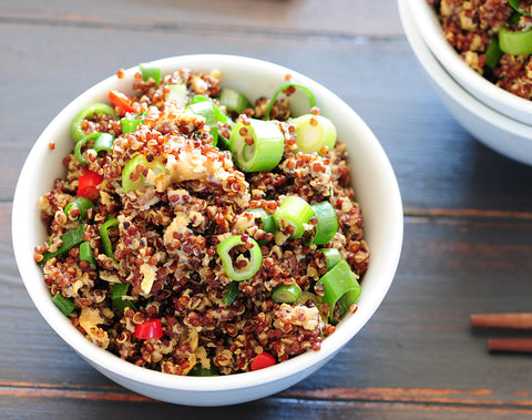 Asian Chicken Quinoa Bowl