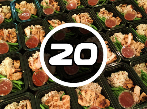 Signature 20 Pack - $7.25 per meal