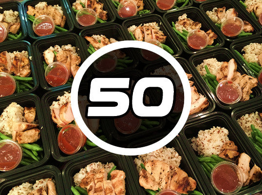 Signature 50 Pack - $6.75 per meal