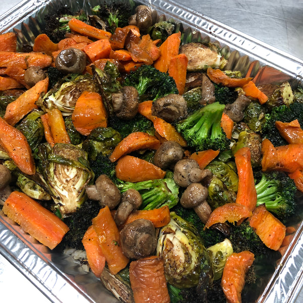 Roasted Veggie Platter - Sweet Potatoes