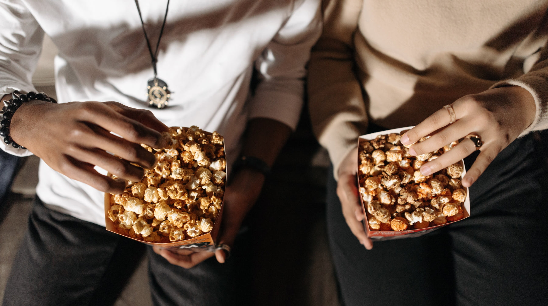 Chocolate Covered Popcorn with Sea Salt