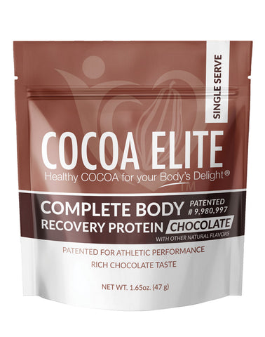 Complete Body Recovery Protein – Chocolate - Single Serve