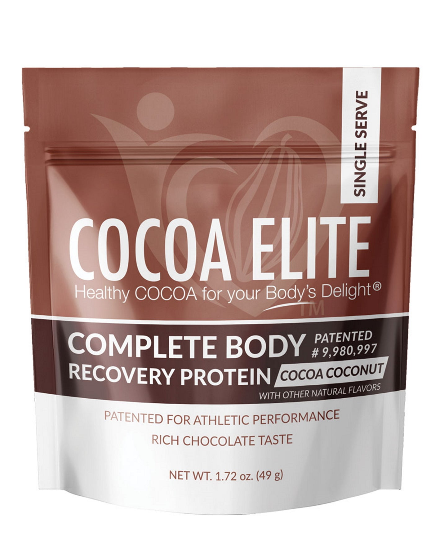 Complete Body Recovery Protein – Coconut Flavor - Single Serve