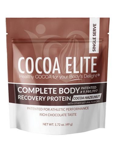 Complete Body Recovery Protein - Hazelnut Flavor - Single Serve