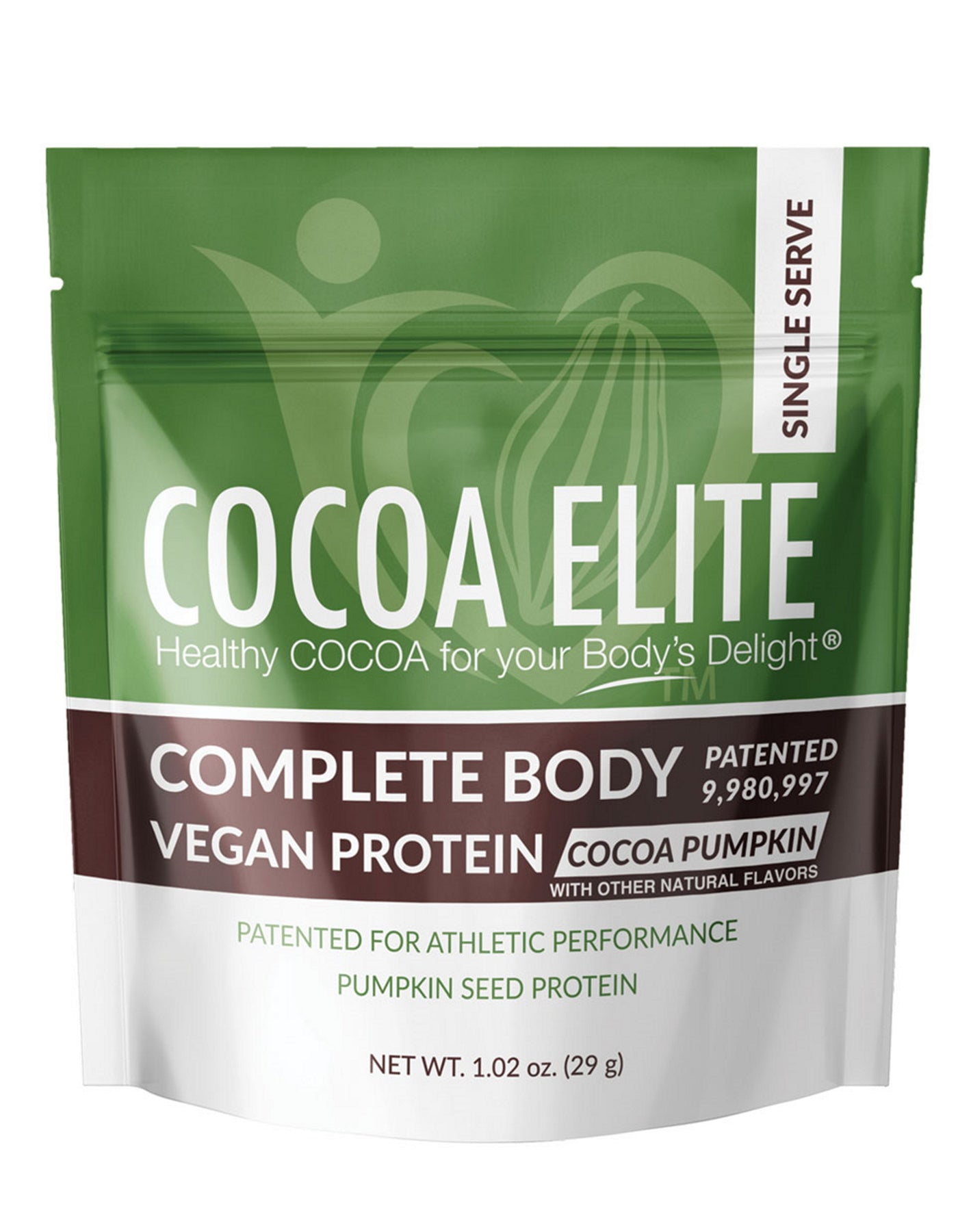 Vegan Protein Cocoa Pumpkin - Single Serve