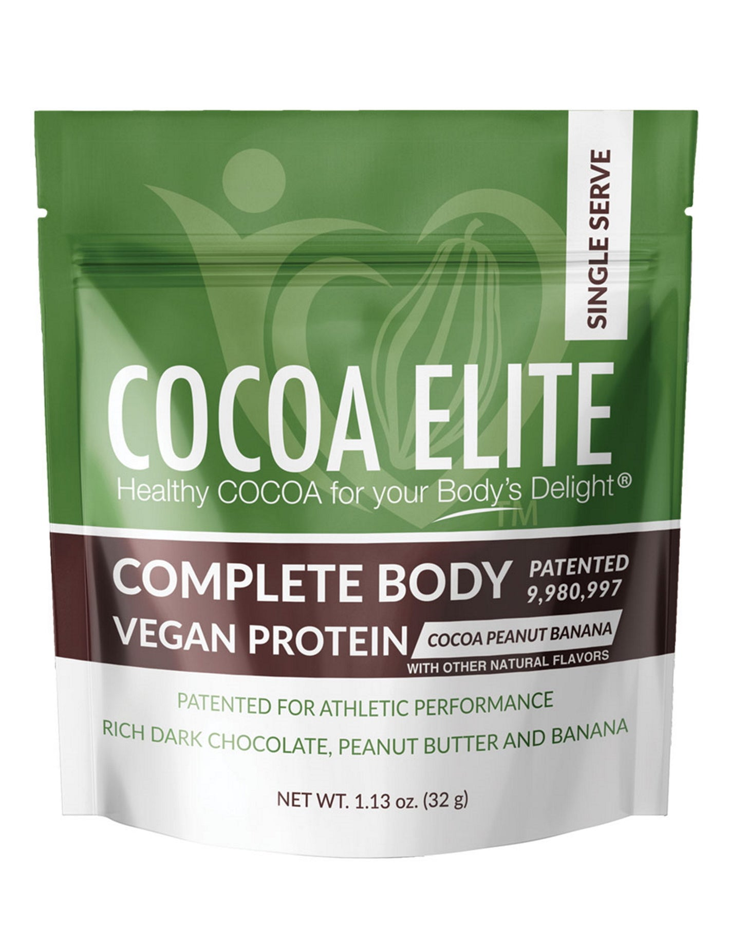 Vegan Protein Cocoa Peanut Banana  - Single Serve