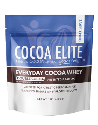 Everyday Cocoa Whey - Double Cocoa - Single Serve