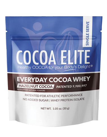 Everyday Cocoa Whey - Hazelnut Cocoa - Single Serve