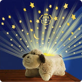CUDDLY SOFT TOY PET PILLOW/ CUSHION DREAM NIGHT LIGHT FOR BED TIME