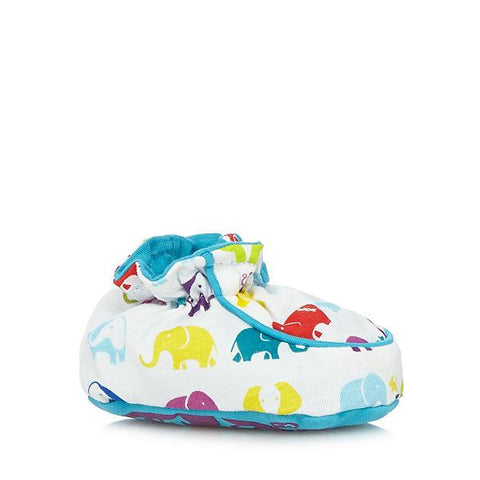 Baker by Ted Baker Babies Elephant Print Booties