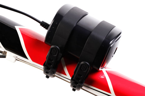 SB3000 LED BIKE LIGHT SET: 3000 LUMEN XML-U2 LED - ABS POLYMER BATTERY PACK AND HELMET MOUNT