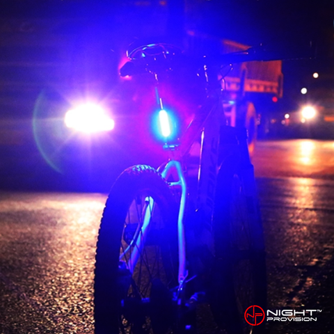 PSR-120 | POLICE PATROL RED/BLUE STROBE - ALTERNATING 120 LUMENS