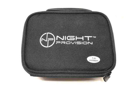 Night Provision Organizer Case Adjustable Dividers And Mesh Net