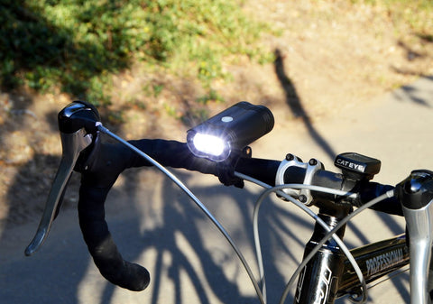 NIGHT PROVISION™ NIPRO M1 | 1600 LUMEN XPL-V6 LED USB RECHEARGABLE BICYCLE HEADLIGHT