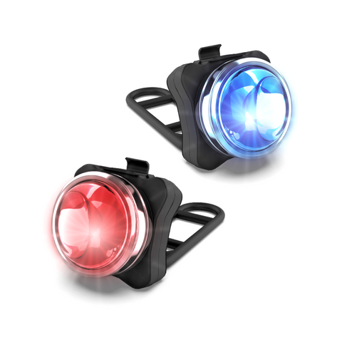 OPTIKS P220 REAR POLICE PATROL COMPACT BIKE LIGHT USB RECHARGEABLE