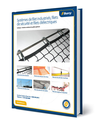 Catalogue de filet de sécurité, de protection et systèmes de filets