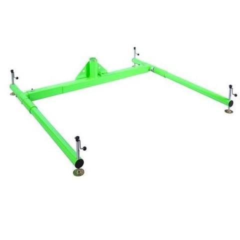 3-piece portable davit base for 42-1/2 in. (108 cm) maximum offset davit mast.