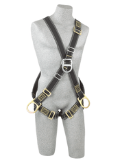 Back, front and side D-rings, Nomex®/Kevlar® fiber webbing, pass-thru buckle leg straps (size Universal). - Barry Cordage