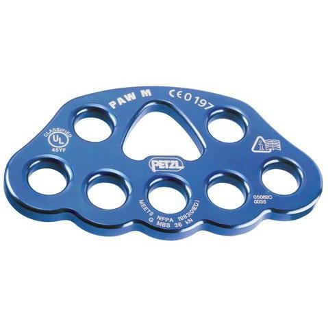 Multiplicateur d'amarrages Petzl Paw medium bleu