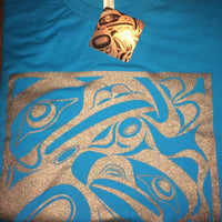 Unisex T-Shirt Eagles Motif