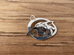 Baby - Silver Pendant