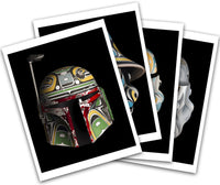 Mask Series Prints on Paper