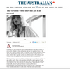 The Australian // The Versatile White Shirt
