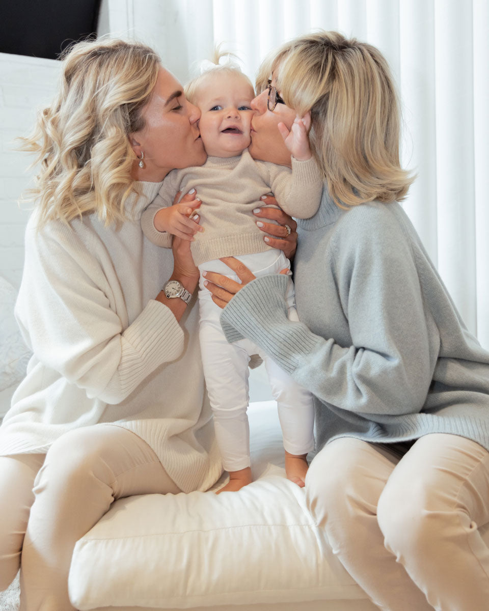 White-Story-Mother's-Day-Campaign---Andy-Gibson-and-Charlotte-Roche-with-Blossom