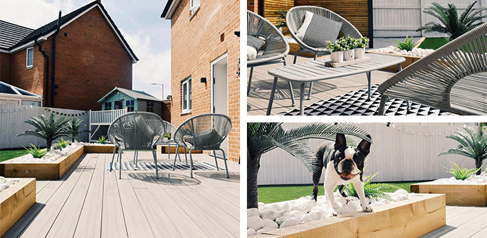 Frontier Decking in Marble by @a.boston.called.bonnie