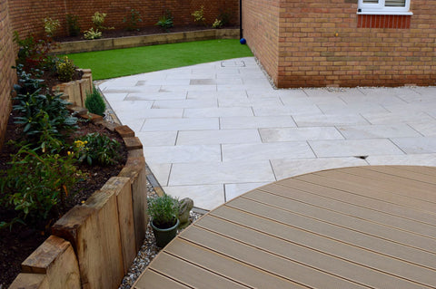 Composite Decking Curved Installation