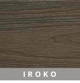 Composite Deck Board - Iroko | HYPERION Decking